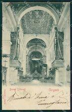 Agrigento Girgenti cartolina XB1608