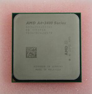 AMD A4-3420 2.8GHZ SOCKET FM1 AD-3400 SERIES PROCESSOR AD3420OJZ22HX