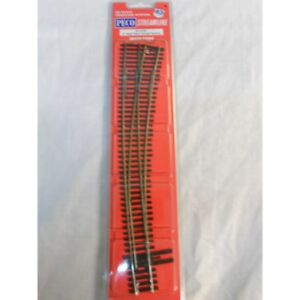 ** Peco SL8376  Code 83 Insulfrog Nr 7 Right Hand Curved Turnout  HO Scale