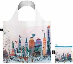 LOQI Tote NEW YORK Skyline Kristjana S Williams Shopping Travel eco-friendly Bag