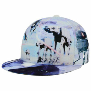 Star Wars All Over Battle The Empire Strikes Back New Era 59Fifty Fitted Hat Cap