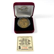 Highland Mint Ken Griffey Jr. #30 Bronze Coin # out of 15,000
