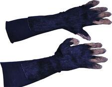 Morris Costumes Super Action Chimp Hand Latex Gloves Black One Size. 1014BSG