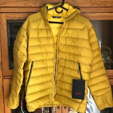 Arcteryx Men's Cerium LT Hoody Down Jacket - L GoldenPalm Yellow- NWT