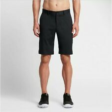 "Nike Flat Front Golf Shorts - 32"" waist in black"