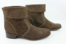 Bottines Boots CASUAL Daim Taupe T 40 TTBE