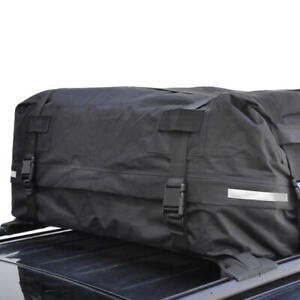 "42 x 42 x 16"" Rooftop Cargo Bag for Cars SUVs Luggage Travel Motor Trend"