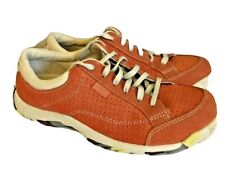 Simple Women Perforated Suede Leather Canvas Sugar Coral Sneaker Shoe 6.5 37.5