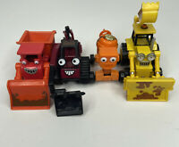 Bob the Builder Scoop Muck Dizzy Benny Lot of 4 Diecast Learning Curve