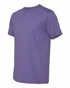 Fruit of the Loom Mens HD Cotton Blend Short Sleeve T Shirt Blank 3930R upto 6XL