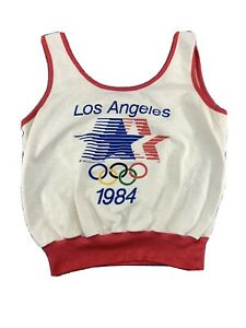 Rare Levi's 1980s Los Angeles Olympic Committee Women's Tank Top  Olympic 1984