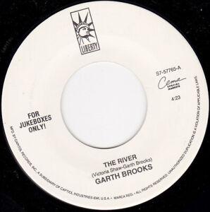 "GARTH BROOKS - The River 7"" 45"
