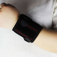 Support Gym Elastic Wrist Brace Band Strap Wrap Guard Wristband Bandage Sport LD