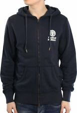 Franklin & Marshall Giacca Felpa invernale cotone Sweatshirt Taglia XL Navy Blue