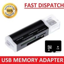 USB 2.0 Memory Card Reader Adapter Converter To Micro SD Flash Memory