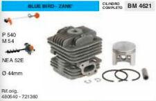 CILINDRO E PISTONE DECESPUGLIATORE BLUE BIRD ZANE P540 M54 TRIVELLA 52 Ø 44 mm