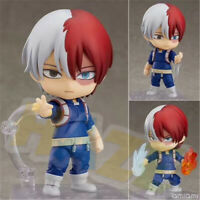 Nendoroid 1112# Anime My Hero Academia Todoroki Shouto Figure Model Juguetes