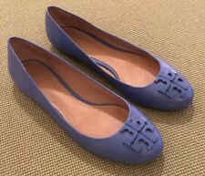 Tory Burch RARE Lowell 2 Blue Macaw Foats Sz 8.5 Retail $265 SOLD OUT EUC