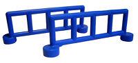 2x Lego Duplo Zaun Geländer Absperrung Railing blau
