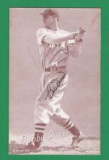 1950's Bobby Doerr Exhibit Card Autographed   JSA COA