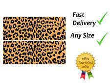 Leopard print Cake Bands Ribbon Cake side strips Icing or Wafer