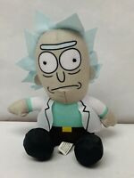 RICK AND MORTY Plush Rick Stuffed Doll Toy Factory ADULT SWIM 7 Inch
