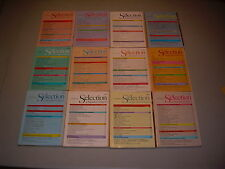 #15 Lot of all 12 months Sélection du Reader's Digest Complete Year 1984