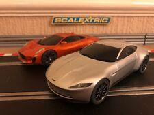 Scalextric Aston Martin DB10 & Jaguar C-X75 Working Lights (James Bond Spectre)