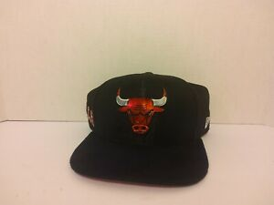 Chicago Bulls Basketball Snapback Cap Suede Brim - Used but in Great Condition.