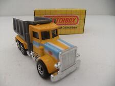 Matchbox 1981 Vintage Peterbilt Quarry Dump Truck Mint Model Original Box MB30
