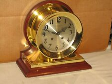 Chelsea Antique Ships Bell Clock~Commander Model~ 6 In Dial~1907~Restored
