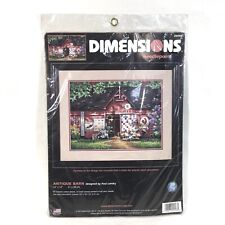 Dimensions Antique Barn Needlepoint Kit 20008 Quilts 16 x 12 New