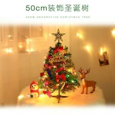 Tree Christmas Small Xmas Decor Table Mini Artificial Lights Accessories Pine Us