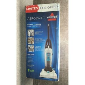 BISSELL AeroSwift Compact Upright Vacuum Cleaner (2613), White