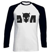 Die Antwoord Yolandi Visser Rat Logo Rap ,Rave ZEF Aphex Men Baseball T-shirt