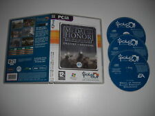 MEDAL OF HONOR Allied Assault DELUXE EDITION Pc Cd Rom SO - MOH - FAST POST