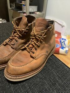 Red Wing Heritage Style 1907 Classic MOC 6 in Mens Boots Size 10 D