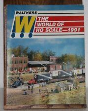 Walthers 1991 HO Catalog