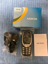 NEW CONDITION NOKIA 3310 BLUE (UNLOCKED) CELL PHONE + UK SELLER