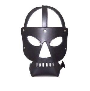 Halloween Gimp Hannibal face  Mask Muzzle FANCY DRESS
