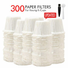 i Cafilas 300 Disposable Paper Filters Cups For Keurig K-Cup Coffee Filter