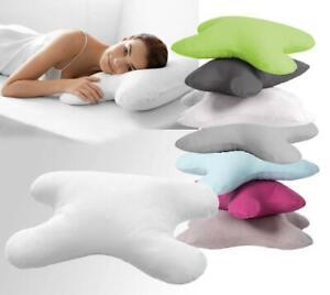 Kopfkissen My Face Hefel Sparset mit Baumwolle Bezug Anti-Falten-Kissen Farbwahl