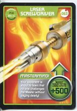 Doctor Who Monster Invasion Card #063 Laser Screwdriver