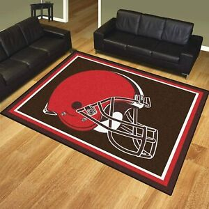 Cleveland Browns Area Rug Fluffy Floor Mat Living Room Modern Anti-Slip Carpet