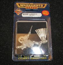 40k Rare oop Vintage Blister Metal Space Marine Ultramarine Captain NIB