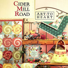 CIDER MILL ROAD Nancy Halvorsen Quilt Applique NEW BOOK