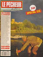Revue le pêcheur de France Août Septembre 1990