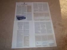 Krell KAV-300cd CD Player Review,1995 ,4 pgs,FULL TEST!