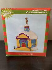 New ListingCity Hall Dept 56 Grinch Village Who-Ville Dr Seuss