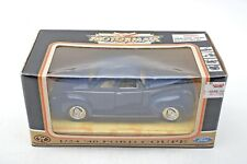 Motormax 1940 Ford Coupe Die-cast 1:24 scale Blue Car++MINT++Box